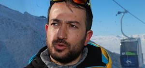 Erzurum'da Alp disiplini slalom etabı gece yapılacak