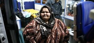 Halepli 350 kilo ağırlığındaki genç kıza yardım eli