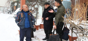 Ordulu çift 13 saatlik kar esareti sonrası evladıyla hasret giderdi