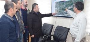 AK Parti il Başkanı, karla mücadele çalışmalarını inceledi