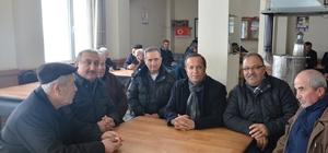 Başkan Toltar, kar ekibiyle mahallelere gitti