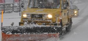 Kdz. Ereğli Belediyesi 31 mahallede karla mücadele ediyor