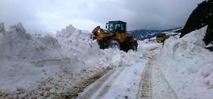 Adıyaman'da 115 köy yolu ulaşıma kapandı