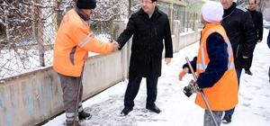 Kriz masası oluşturan belediye kar'la mücadelede tam not aldı