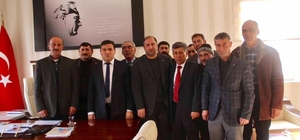 Çıldır AK Partiden Kaymakama ziyaret