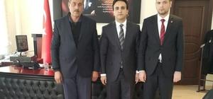 Başkan İlhan'dan Kaymakam Dündar'a ziyaret