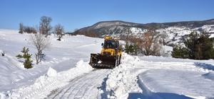 Sinop'ta 228 köy yolu ulaşıma kapandı