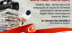 Başkan Palancıoğlu'ndan Gazeteciler Günü mesajı