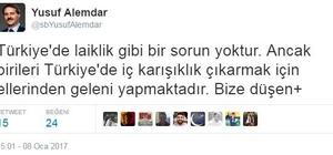 """Başkan Alemdar: """"Bu olay ancak siyasi sorumsuzlukla açıklanabilir"""""""