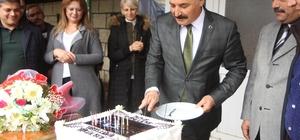 Başkan Tuna'ya doğum günü sürprizi