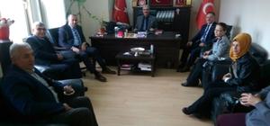 İl Emniyet Müdürü Fahrettin Şen'den, Başkan Demirel'e ziyaret