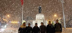 Muğla'da kar yağışı