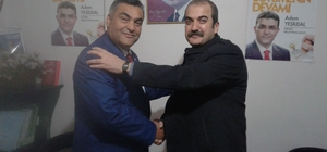 AK Parti Samandağ İlçe Başkanı Selahattin Yeter görevi devraldı