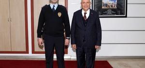 Kalkan'dan Başkan Yaşar'a ziyaret
