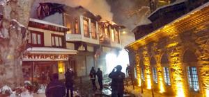 Bursa'da tarihi konakta yangın
