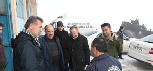 Genel Sekreter Yaşar'dan ilçe ziyareti