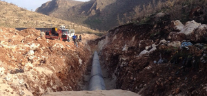 Mardin'de 4 ilçenin içme suyu sıkıntısı 2019'da sona erecek