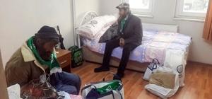 'Soğuktan Sıcağa' projesi ile evsizlere sıcak yuva