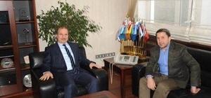 STSO Başkanı Kuzu, TSE Başkanı Korkmaz'ı ziyaret etti