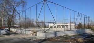 Sapanca'da sosyal tesis binası inşaatı sürüyor
