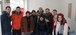 Lapseki'de çalışan gazeteciler günü kutlaması