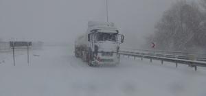 Burdur'da kar yağışı