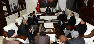 Palulular Derneği Başkanı Ataş Gürkan'ı ziyaret etti