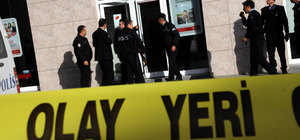 Osmaniye'de bankada soygun girişimi