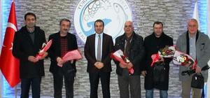 Erciş Kaymakamı Yaşar Çalışan Gazeteciler Gününü kutladı