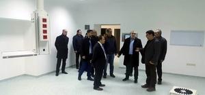 Kulu Kaymakamı Arslan, devlet hastanesi ek binasını inceledi