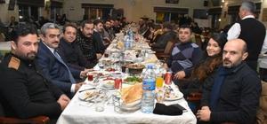Haluk Alıcık, Gazetecilerle akşam yemeğinde buluştu