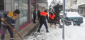 Korkuteli Belediyesi'nden kar mücadele