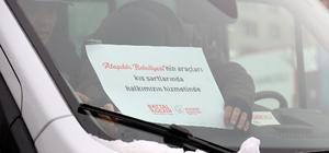 Ataşehir Belediyesi karda kalanları evlerine ücretsiz ulaştırıyor