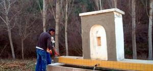 Bakımsız çeşmeler, Orman Bölge Müdürlüğü tarafından onarılıyor