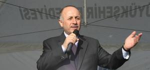 Erzurum ve Erzincan'dan Haleplilere yardım