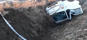 Denizli'de kamyonet devrildi: 1 ölü