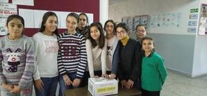 Öğrencilerden 'Sanki Yedim' Kampanyası