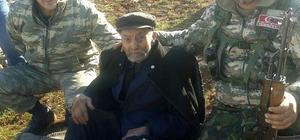 92 yaşındaki kayıp alzheimer hastasını jandarma buldu