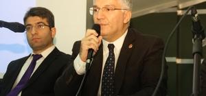 Büyükşehir Başkan Vekili Özak, Gebzeli mimar ve mühendisler ile bir araya geldi