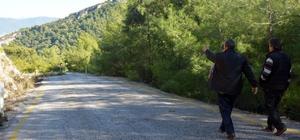 Kayaköy'lüler yolun bitmesini bekliyor