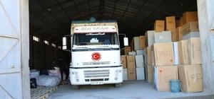 Akçakale Kaymakamlığından Halep'e yardım