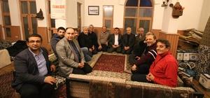 Başkan Özaltun, çalışan gazetecilerle buluştu
