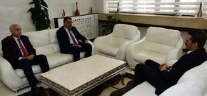 Sağlık İl Müdürü Duran Gürkan'ı ziyaret etti