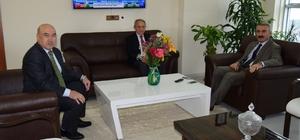 Genel Müdür Coşkun'dan Kaymakam Erdoğdu'ya ziyaret