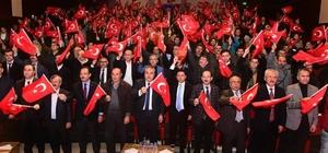 15 Temmuz demokrasi kahramanları Uşaklılarda buluştu