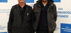 Sani Konukoğlu Hastanesinde babadan oğluna ikinci şans