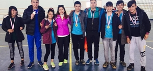 İdil'de atletizm yarışması düzenlendi