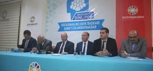 Başkan Çolakbayrakdar, Ziyagökalp'de vatandaşlara müjdeler verdi