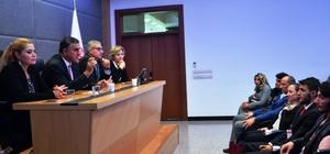Şaphane Meslek Yüksekokulu TBMM'ye teknik gezi düzenledi