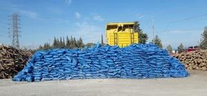 Antalya'da kriterlere uymayan 2 bin 48 ton kömür il dışına çıkarıldı